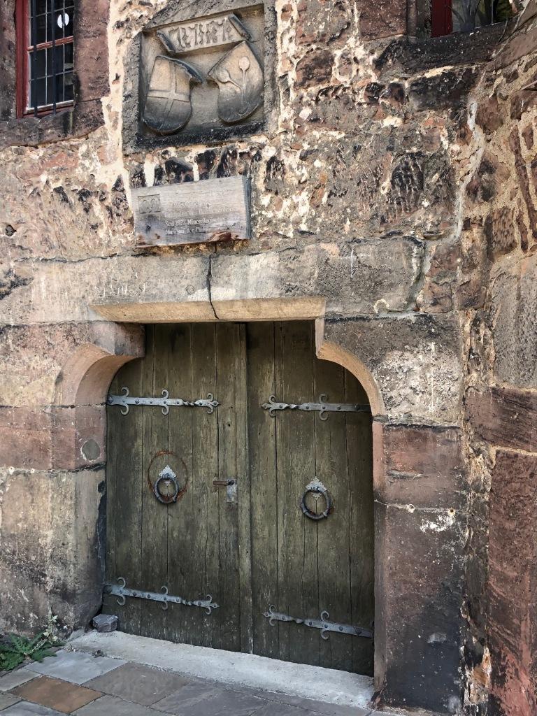 Marburg - medieval building detail