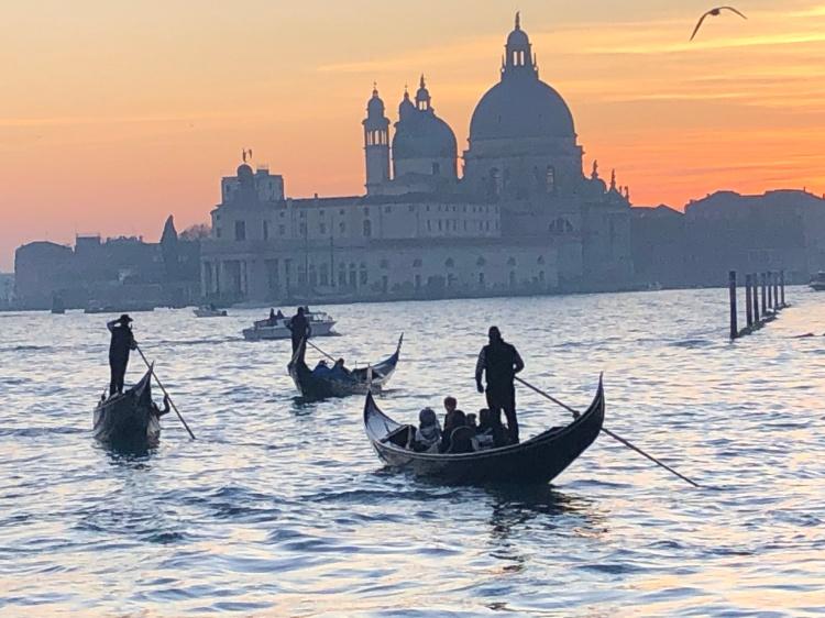Venice at sunset - February, 2020