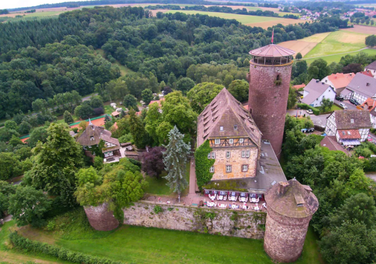 Rapunzel's Tower, Germany - a popular Grimm's Brothers fairy story