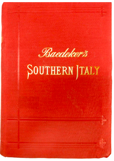 Baedekers - Guide book to Italy 1895
