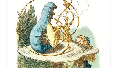 Alice meets the Caterpillar, Alice's Adventures in Wonderland