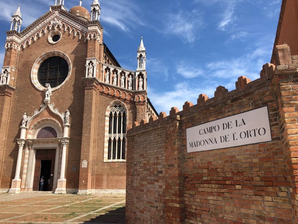 Venice - Madonna del Orto Church and Campo