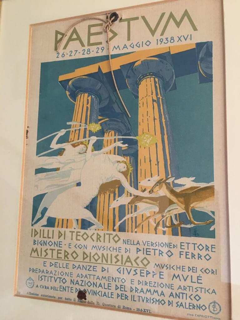 Paestum - 1938 Musical Spectacular (Mussolini era). Photo: www.educated-traveller.com