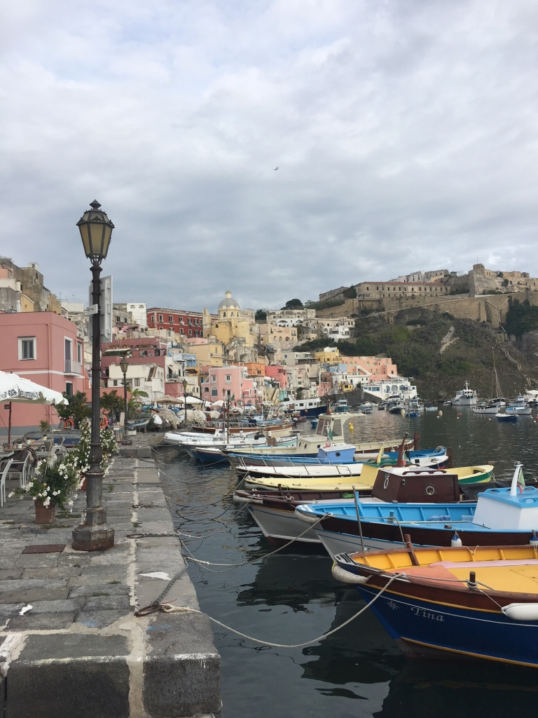 Procida harbour - waterfront