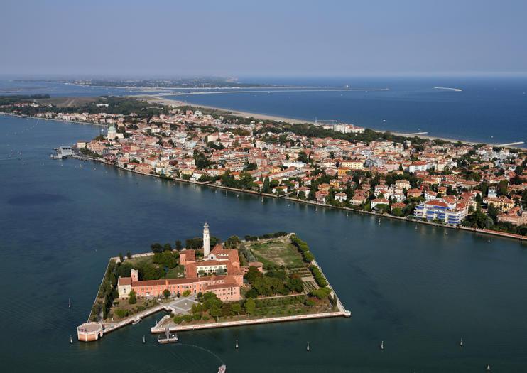 The island of San Lazzaro degli Armeni - Laguna di Venezia
