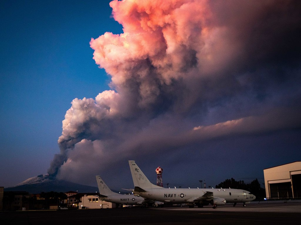 Mount Etna Eruption - February, 2021