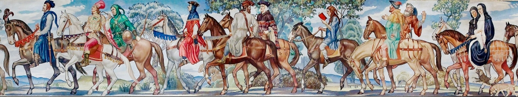The Canterbury Tales - mural by Ezra Winter, Library of Congress, US - 1939