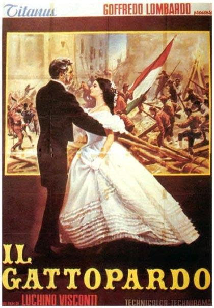 Il Gattopardo - promotional poster (1963)