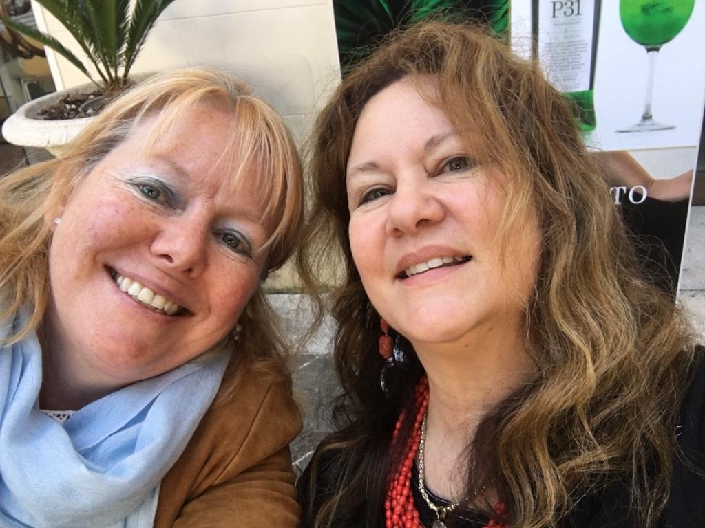 Padova - Katharine and Janet - Sept 2018