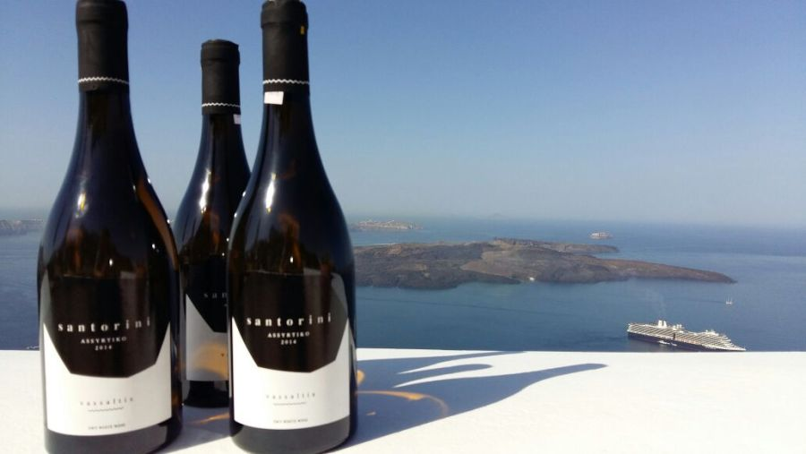 Sister winery Vassaltis creates superb Santorini wines to enjoy at sunset (or any time actually)