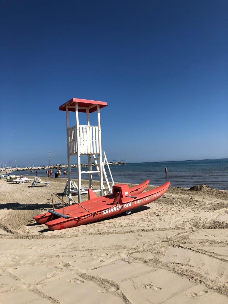 Senigallia - miles of beautiful beach