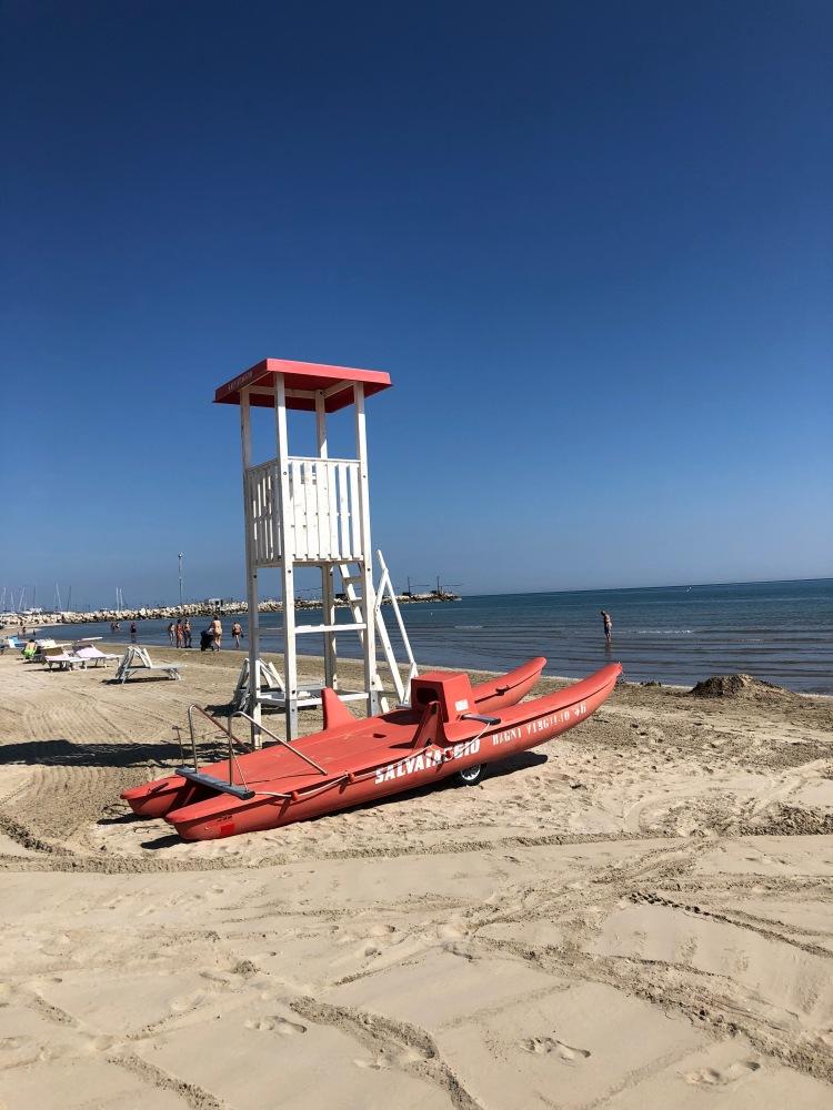 Senigallia - miles of velvet beach