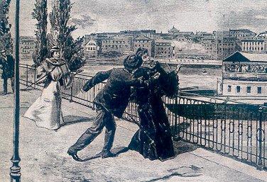Empress Elisabeth is attacked in Geneva - 1898