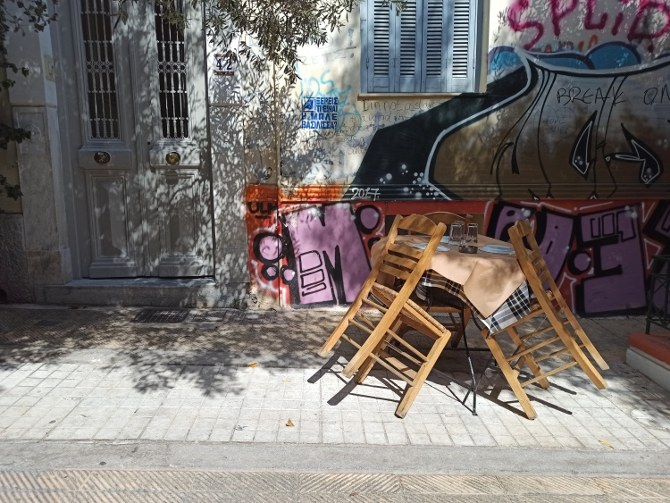 A different side of Athens, Greece