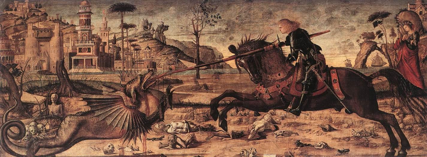 San Giorgio slaying the dragon